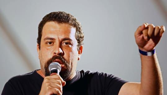 'Vamos enfrentar o golpe e sua agenda': O discurso de Boulos como candidato à