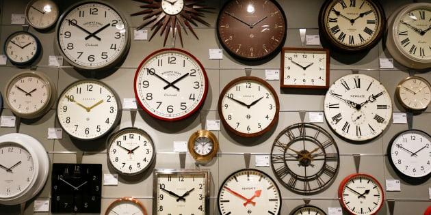 Relojes en la tienda John Lewis de White City, Londres, en una imagen de archivo.