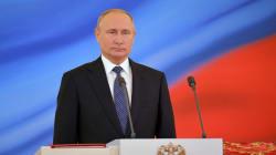 Vladimir Poutine prête serment pour un quatrième