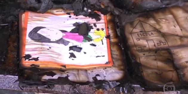 Sala de aula da creche Gente Inocente ficou em chamas.