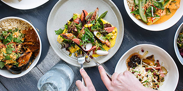 Some of Sydney's finest food is mere taps away.