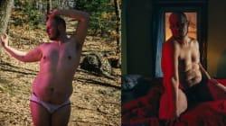 Il se photographie nu pour montrer qu'on peut être heureux quand on est en
