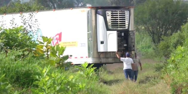 Ritrovati 300 cadaveri stipati in due camion frigo in Messic