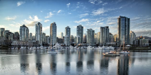 Residential buildings along False Creek in Vancouver. The British Columbia government is allowing rental rates to rise by the most in a decade.