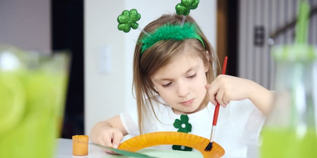 Kids will love these St. Patrick's Day crafts.