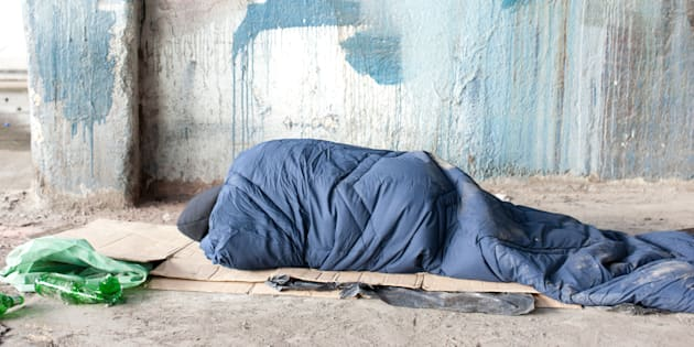 Homelessness has barely been touched as an election issue.