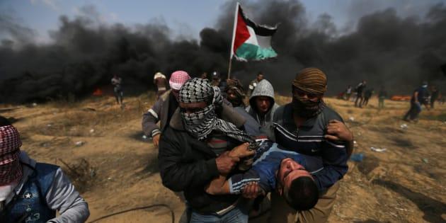 Proteste a Gaza, 3 i palestinesi uccisi oggi da soldati israeliani
