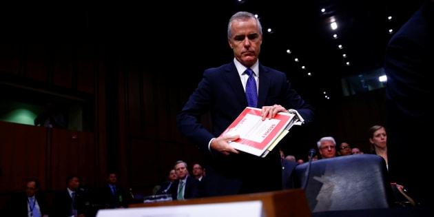 Le numéro 2 du FBI, dont Trump voulait se débarrasser, démissionne sous la pression du directeur de l'agence