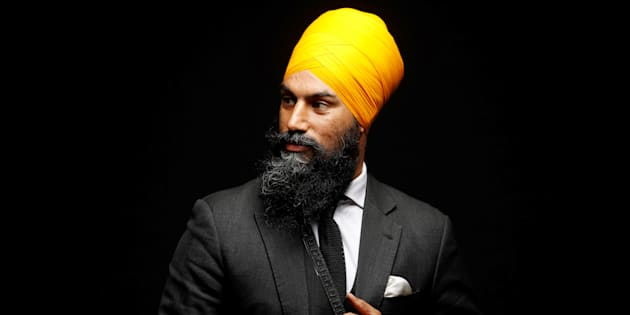 NDP leadership candidate Jagmeet Singh poses for a picture in Brampton, Ont. on July 13, 2017.