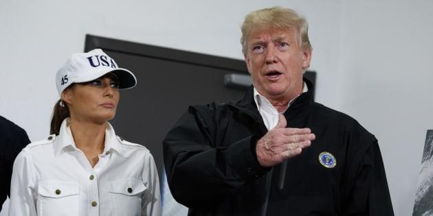 """Trump se pose en """"véritable défenseur de l'environnement"""" (et il sait que cela va faire rire)."""