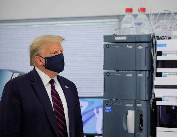 Trump says virus vaccine possible before Nov. 3