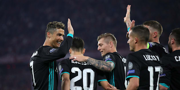 Le Real Madrid a fait un grand pas vers la qualification à Munich le 25 avril 2018.