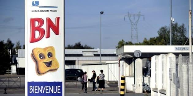 """Les biscuits """"Choco BN"""" ne seront peut-être bientôt plus français. Ce projet, s'il aboutit, pourrait inquiéter les salariés de la deuxième usine française du groupe, ici en photo, et située dans le Vertou (Loire-Atlantique)."""