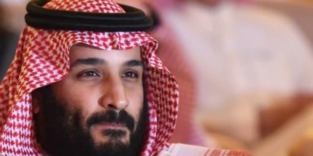 El príncipe Mohamed bin Salmán.