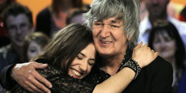 Jacques et Izïa, l'amour sans limite d'un père pour son unique fille (Izïa et Jacques Higelin en 2010)