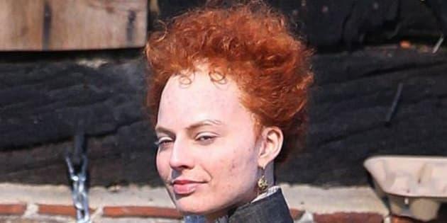 Reconnaissez-vous cette actrice métamorphosée pour jouer le rôle d'Élisabeth I