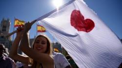 Miles se manifiestan en Madrid y Barcelona por el
