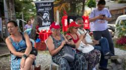 Seguidores de Lula da Silva celebrarán Año Nuevo afuera de su