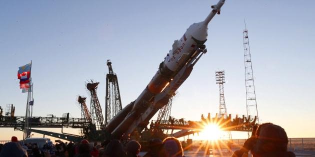 La fusée Soyouz MS11