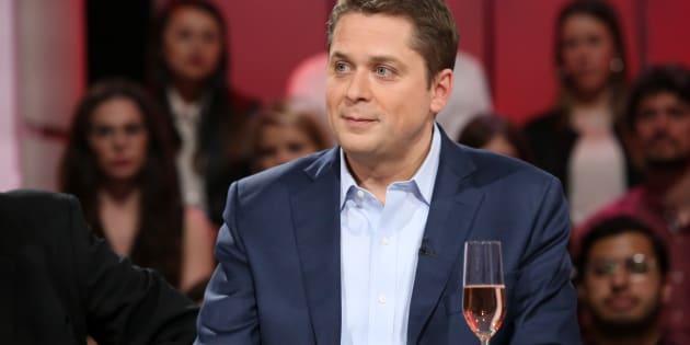 Andrew Scheer, le chef du Parti conservateur