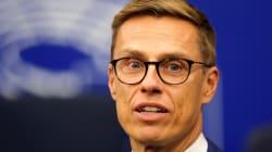 El finlandés Alexander Stubb luchará contra Weber para suceder a Juncker al frente de la