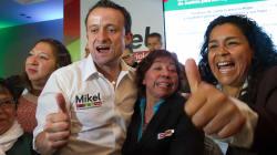 'Sí Tienes Madre', el festejo de Mikel entre cumbia y bendición