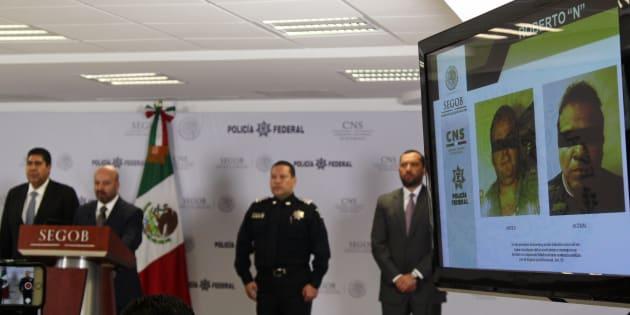 El Betito tiene antecedentes penales desde el año 2008, de acuerdo con el titular de la Comisión Nacional de Seguridad, Renato Sales.