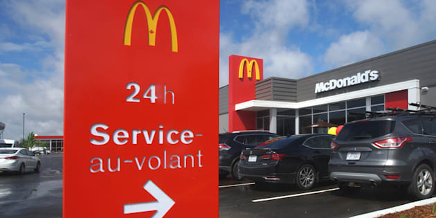 A McDonald's restaurant in Laval, Que., Tues. June 20, 2017.
