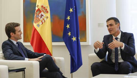 El PSOE sigue subiendo en la encuesta del CIS y el PP apenas nota el efecto