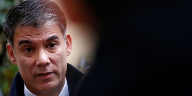 Olivier Faure, ici à Matignon en décembre, a fait acter par le conseil national du PS que son parti se range derrière le mouvement Place publique de Raphaël Glucksmann aux européennes.