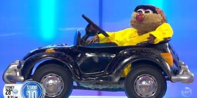 Agro's stolen car