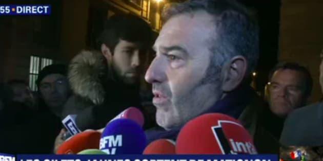 Christophe Chalençon s'est exprimé ce vendredi 7 décembre au soir, au terme d'un long entretien avec le Premier ministre Édouard Philippe.