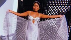 Y el vestido que lució Yalitza Aparicio en los Golden Globes es