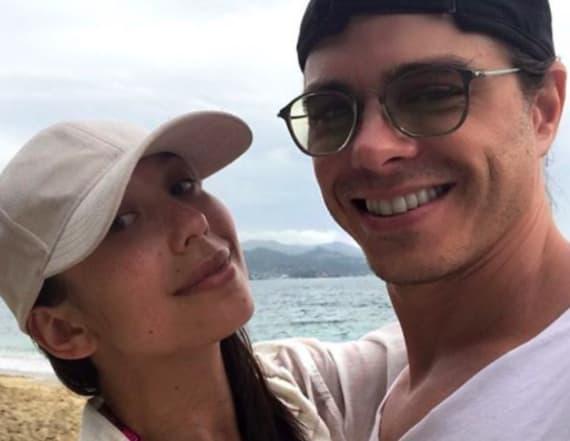 Cheryl Burke and Matthew Lawrence take romantic trip