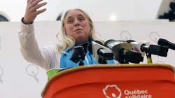 La députée solidaire Manon Massé se fracture le fémur dans un accident de