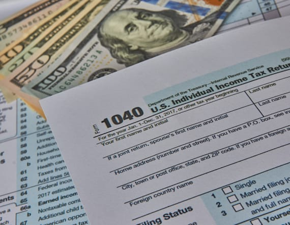 Average tax refund down 8 percent from last year