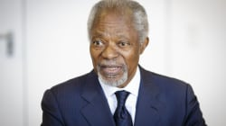 L'ancien chef de l'ONU Kofi Annan est