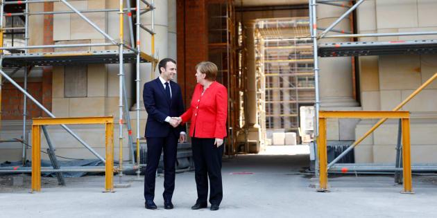 Macron e Merkel: a Berlino il summit per