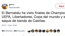 Los tuits sobre el River-Boca en el Bernabéu que te sacarán una