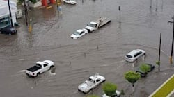 Fuertes lluvias ahogan a Torreón... otra