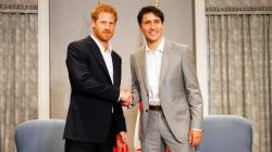 Le prince Harry a un jumeau, et c'est le photographe de Justin