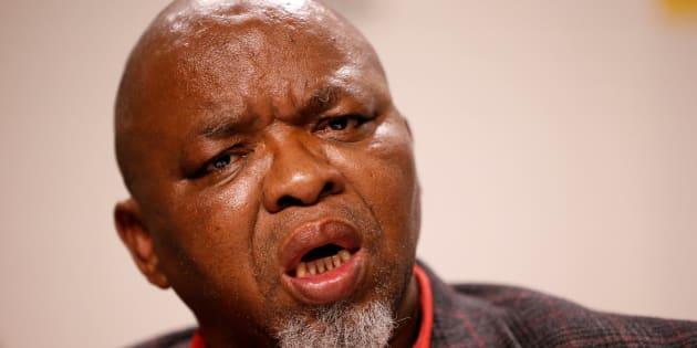 African National Congress (ANC) Secretary General Gwede Mantashe.