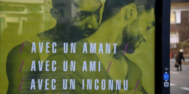 Non, ces affiches de prévention contre le sida ne sont pas un cliché sur les homosexuels