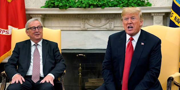 Rencontre Trump-Juncker: