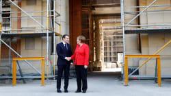 Cantiere Europa, Merkel e Macron si incontrano tra le impalcature del nuovo castello di