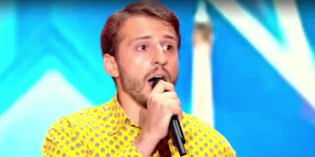 """Maxenss sur la scène de """"La France a un incroyable talent"""""""
