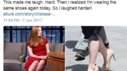 I media la criticano per le sue scarpe, ma Chelsea Clinton ha la risposta