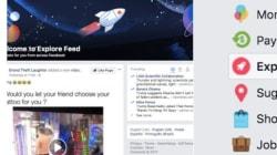 Facebook sta testando due bacheche separate: ma smentisce che una sia solo per le news a