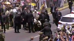 Poliziotta cade da cavallo davanti alla papamobile, Francesco scende per