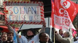 Infirmiers et personnels hospitaliers en grève pour dénoncer leurs conditions de